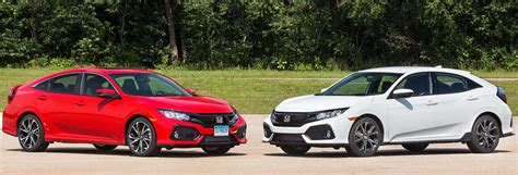 Type R Vs Si by The 2017 Honda Civic Dilemma Si Or Sport Consumer Reports