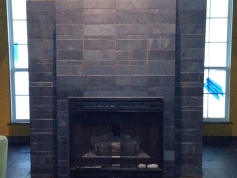 fireplace wall tiles homeofficedecoration slate tile for a fireplace