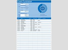 Event Fundraiser Template for Excel