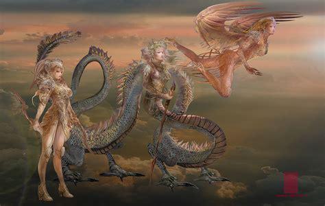 Fantasy Myth Characters on Behance