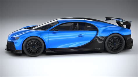 Only nostalgia would lead you to purchase any other sort of car at this price point. Bugatti Chiron Pur Sport 2021 Modèle 3D in Voitures de Sport 3DExport