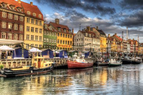 Copenhagen Denmark Nyhavn Hdr Places 2 Explore