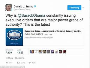 Trump beats Obama's executive action record in seven days ...