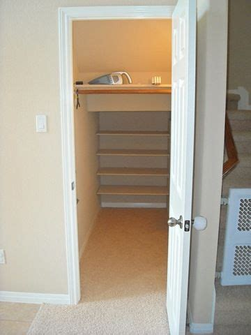 the stairs closet organization storage under the stairs closets google search for the home pinterest closet under