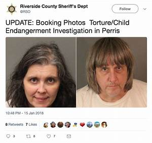 Perris Turpin Family Parents Arrested After 3913 Children