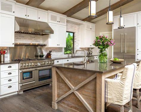 Favorite White Rustic Modern Kitchen Design And