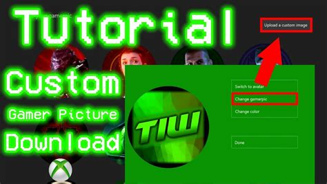 How To Upload Your Own Custom Profile Picture On Xbox One