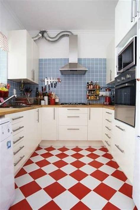 red white kitchen floor tiles film  furniture