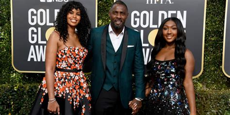 Idris Elba's 29-Year-Old Fiancée And Teen Daughter Match ...