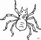 Coloring Spider Pages Printable Coloringpages101 Dot Drawing sketch template
