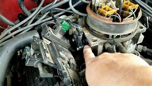 Replacing The Tps Or Throttle Position Sensor 1988 Gmc