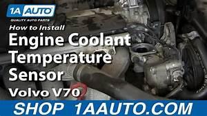 How To Install Replace Engine Coolant Temperature Sensor 2000-07 Volvo V70