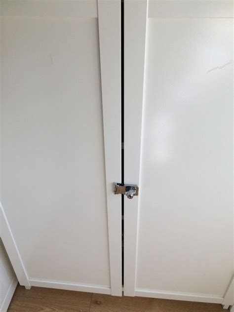 Bookcase Lock by 2 X Oxberg Doors Locks For Ikea Billy White Bookcase