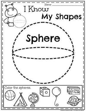 shapes worksheets shapes worksheets preschool math
