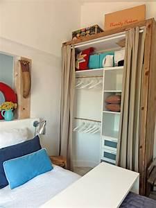 Rangement Pour Chambre : idee de rangement petite chambre ~ Premium-room.com Idées de Décoration