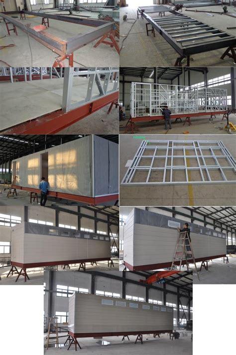 prefab mobile cabin house steel frame prefab modular homes  guard house
