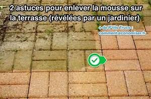Dalle Mousse Bébé Non Toxique : 2 astuces pour enlever la mousse sur la terrasse r v l es ~ Voncanada.com Idées de Décoration