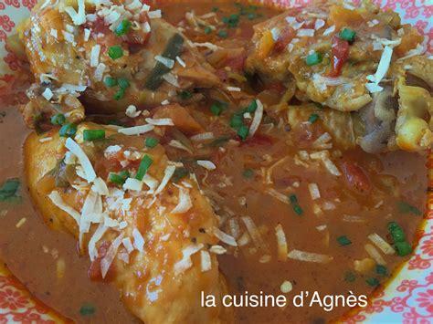 la cuisine d agnes poulet au curry et au coco 4