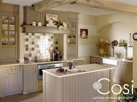 cuisine style cottage cuisine cosi cottage bleu lavande cuisine