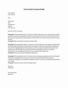 what to title a cover letter - cover letter content