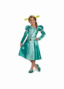 Dreamworks Princess Fiona Classic Girls Dress Costume