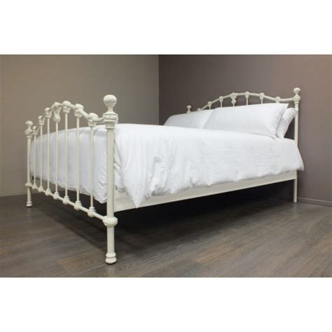 claremont size cast and wrought iron bed
