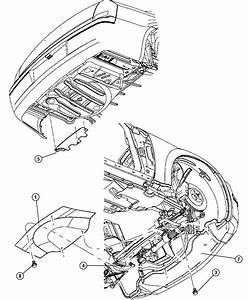 Dodge Magnum Belly Pan  Front  Engine  Underbody  Shields
