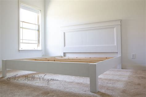 ana white  moms king fancy farmhouse bed diy projects