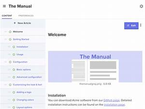 Knowledge Base For Documentation  User Guides And Manuals