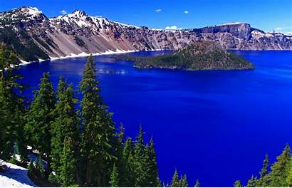 Crater Lake Oregon National Park Parks Wallpapers