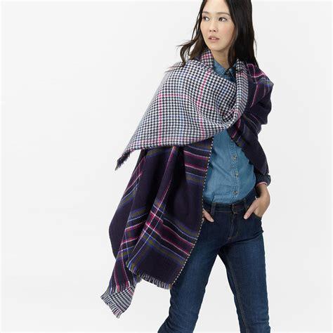 ways to drape a scarf 6 ways to wear an oversized scarf joules
