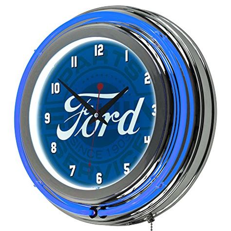 lighted clocks for sale top 5 best ford neon wall clock for sale 2017 best for