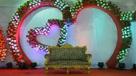 Decoration By Flowers - stage decoration ideas for wedding flower decoration