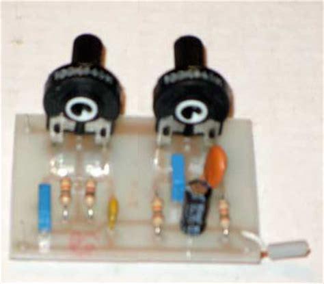 Bass Treble Tone Control Circuit Electronic Circuits