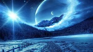 Starry, Night, Wallpapers, Hd
