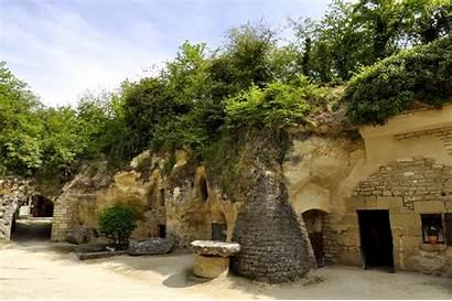 Village Rochemenier Troglodyte Loire Troglodytique France Louresse
