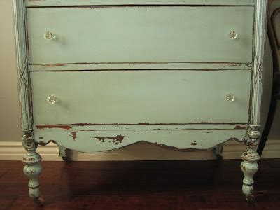 shabby chic distressed furniture refinishing european paint finishes cottage green dresser