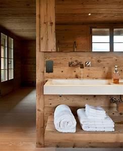 Sol Bois Salle De Bain : parquet flottant amenagement sol salle de bain bois ideeco ~ Premium-room.com Idées de Décoration