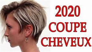Coup De Cheveux Femme : coupe de cheveux femme 2020 youtube ~ Carolinahurricanesstore.com Idées de Décoration