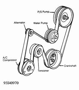 1995 Chevy Corsica Serpentine Belt Diagram