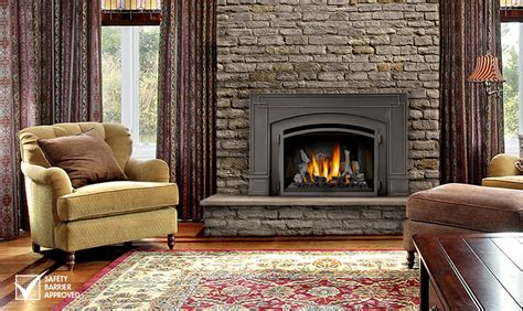 napoleon fireplace inserts napoleon infrared3 gas fireplace insert ir3