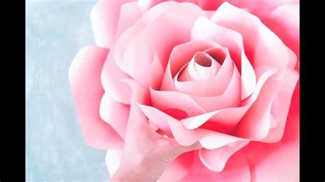 Moldes para Rosas Gigantes 1ero de 2 YouTube