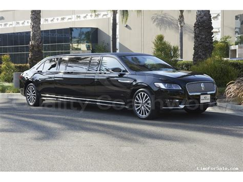 Lincoln Limo by New 2017 Lincoln Continental Sedan Stretch Limo Quality