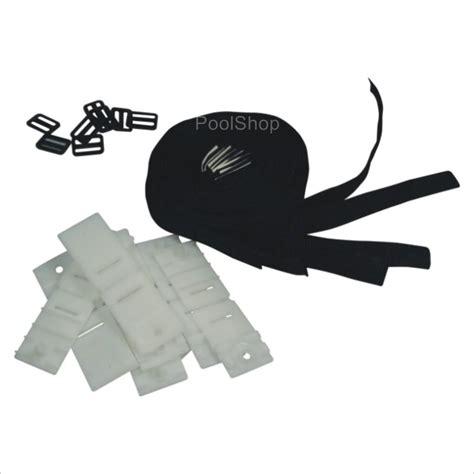 strap kit for swimming pool solar blanket reel roller
