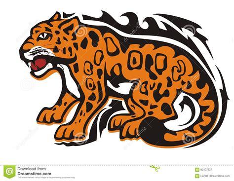 Jaguar Sitting Silhouette jaguar silhouette vector ...