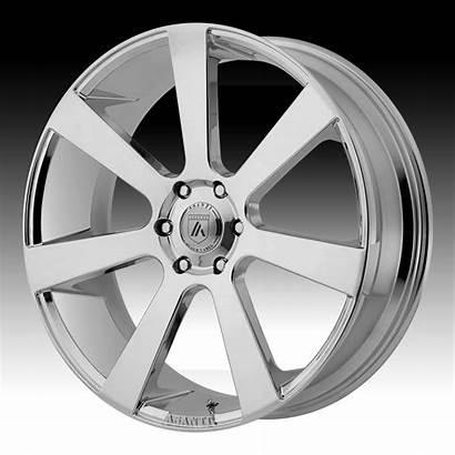 Chrome Asanti Abl Wheels Rims Custom Label