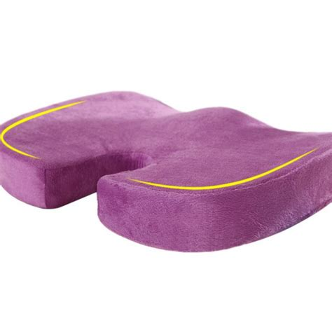 Orthopedic Chair Back Cushion by Coccyx Orthopedic Seat Cushion Lumbar Support Comfort Foam
