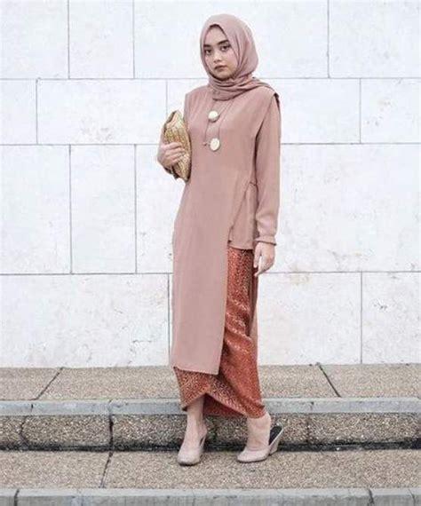 kebaya wisuda casual model kebaya wisuda modern simple busana muslim