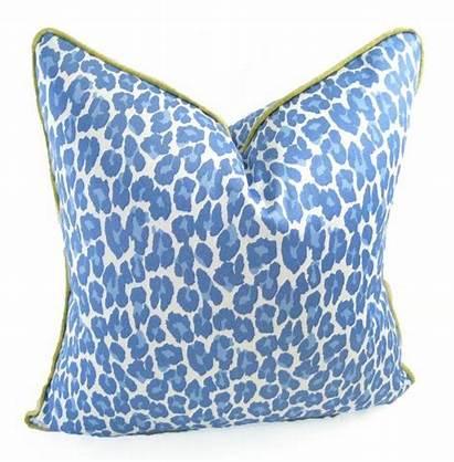 Pillow Covers Silk Pillows Leopard Fabric