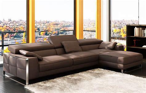 Leather Sofa Contemporary Design by Contemporary Leather Sofa Flavio Home Ideas Collection